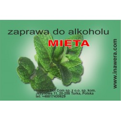 Mortar to alcohol Mint