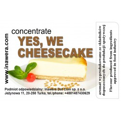 Concentrate Yes, We Cheesecake